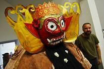 Zahájení výstavy Indonésie černá a bílá v mosteckém muzeu