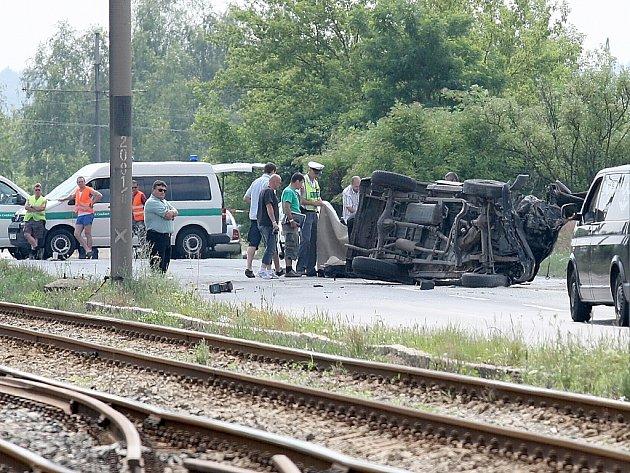 Smrtelná dopravní nehoda mezi Mostem a Litvínovem.