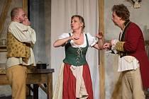 Inscenace Baron Prášil v mosteckém divadle