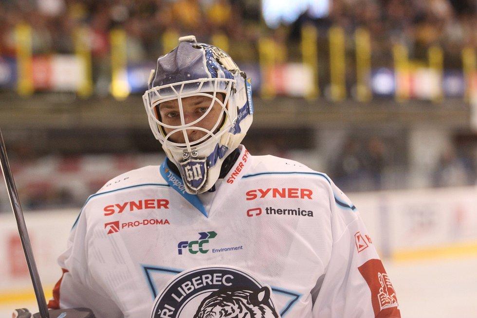 Úvodní domácí zápas nové sezony Litvínov vyhrál na nájezdy. Liberec se musel spokojit jen s bodem.