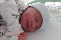 Amálie Monika Rusó se narodila mamince Monice Gärterové z Litvínova 15. listopadu ve 13.20 hodin. Měřila 50 cm a vážila 3,49 kg.