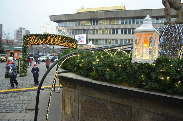 Vánoční trhy vMostě.