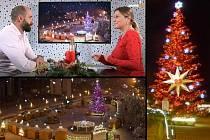 Mostecký adventní kalendář nabídl 1. prosince k otevření první okénko. Je v něm rozhovor s primátorem.