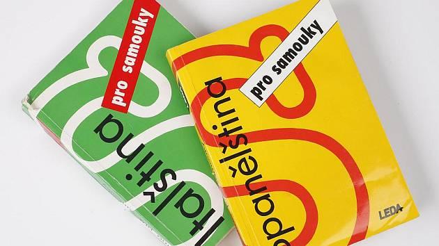 Jazykové učebnice.
