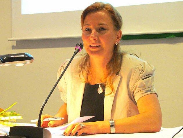 Kamila Bláhová, starostka Litvínova.