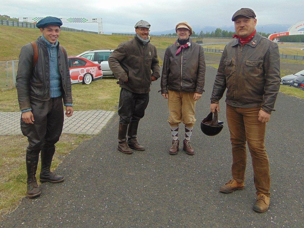 Druhý ročník závodu historických vozů The Most Historic Grand Prix.