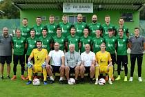 FK Baník Most-Souš na letošní týmové fotografii.