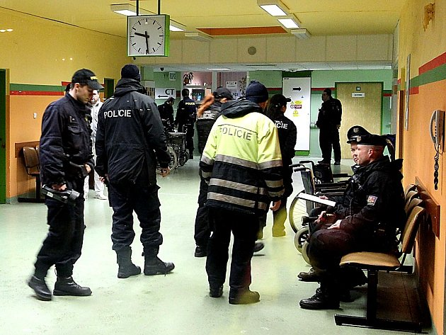 Anonym zalarmoval policisty.