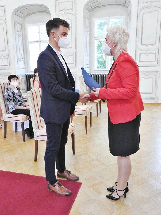 Litvínov ocenil úspěšné reprezentanty města.