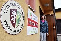 Kateřina Kreisinger z Českého vinařství Chrámce.