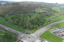Park Šibeník v Mostě.