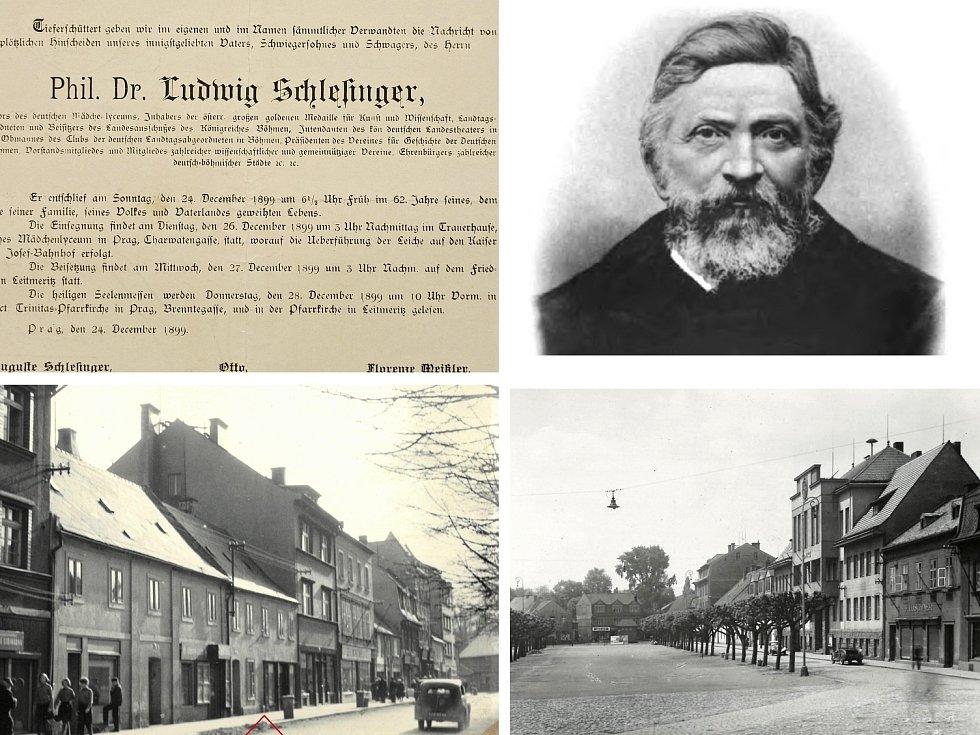Historici uctí památku proslulého kolegy Ludwiga Schlesingera