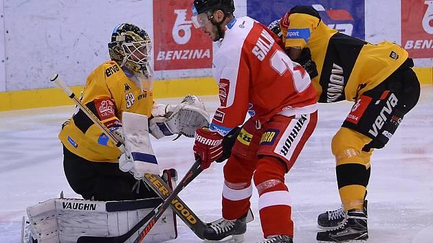 Litvínov hrál v 19. kole na Hané.