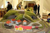 K úternímu dni dětí v Oblastním muzeu a galerii v Mostě se připojil i Klub železničních modelářů Moldaváček z Oseka.