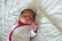 Nicol Machová se narodila mamince Elišce Růžičkové 17. června v 10.37 hodin. Měřila 50 cm a vážila 3,8 kilogramu.