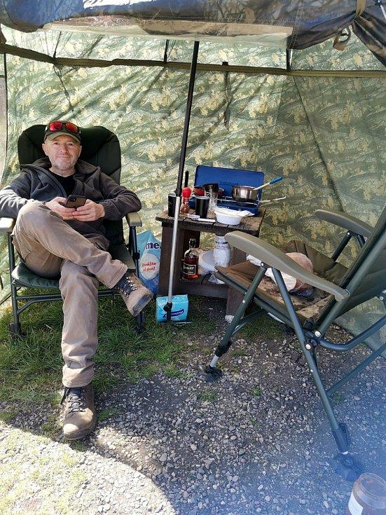 Zažili jsme dva parádní dny rybaření s kamarádem Janem Maty v Soukromém sportovním revíru Jezero Vrbenský.