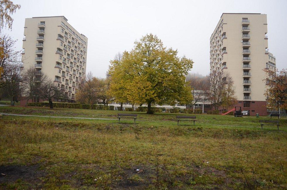U litvínovského Koldomu se má v roce 2020 postavit relaxační zóna s hřišti pro děti i dospělé.