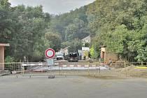Rekonstrukce mostu v Horním Jiřetíně potrvá déle. Do konce září.