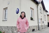 Zděnka Němečková, starostka obce Klíny.