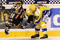 Hokejisté Litvínova podlehli na domácím ledě