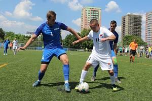 Most vprvním čtvrtfinále Superligy remizoval v Ostravě.