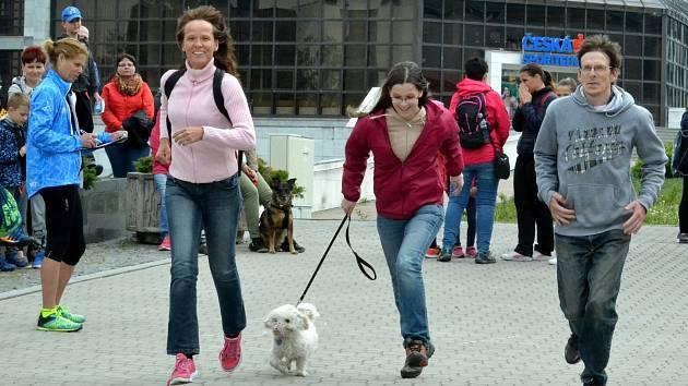 21. ročník prvomájového lidového běhu na 1. náměstí v Mostě