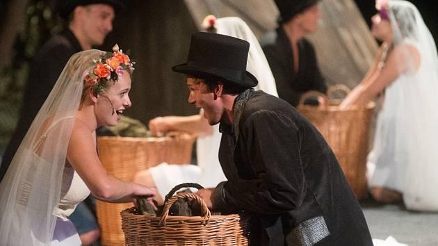 Mostecká scéna uvedla v premiéře Starce na chmelu. První představení muzikálu se setkalo s bouřlivým diváckým ohlasem, včetně standing ovation.