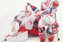 Třinec porazil Litvínov.
