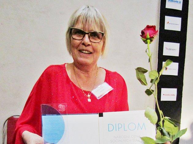 Dagmar Brhelová zDenního dětského rehabilitačního stacionáře vMostě