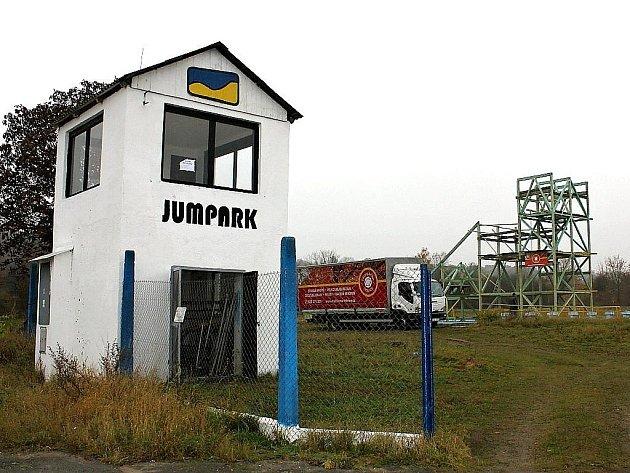 Jumpark v Havrani. Listopad 2011.