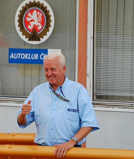 Legenda mosteckého závodního okruhu Gerhard Ittner, který zemřel loni vprosinci po dlouhé nemoci.