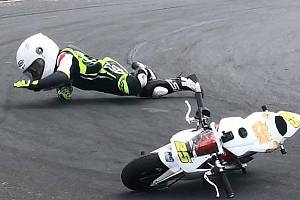 Šestiletý jezdec mosteckého HKC Racing Teamu Standa Kohout.