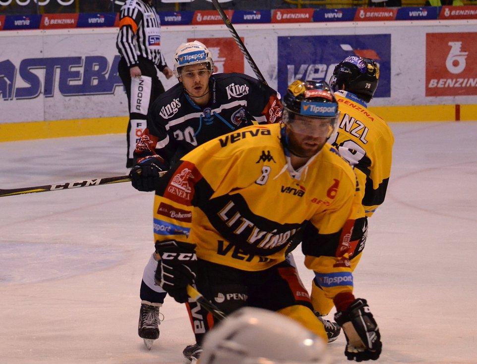 Litvínov v předposlední kole základní části hostil Plzeň.
