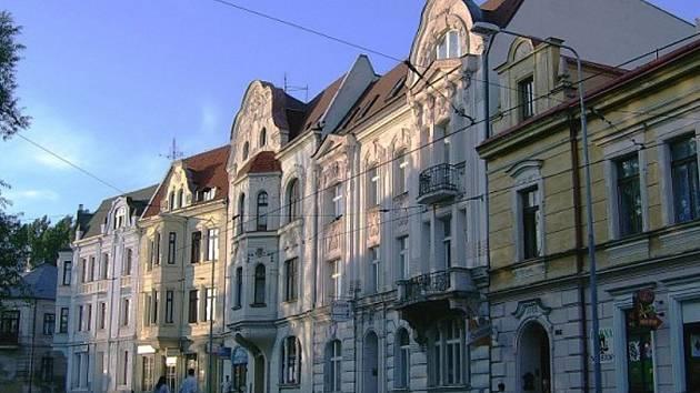 Smetanova ulice v Litvínově.