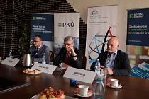 Vicepremiér a ministr průmyslu a obchodu Karel Havlíček jednal na lomu ČSA u Mostu o revitalizaci a budoucím využití šachet v Ústeckém kraji.