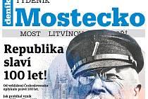 Týdeník Mostecko z 24. října 2018