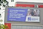 Billboard sdružení Mostečané Mostu