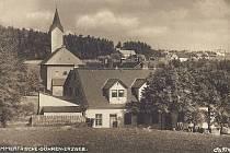 Krušnohorská obec Klíny