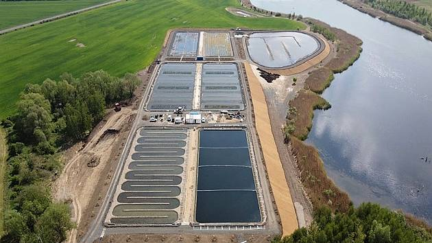 Biotechnologický systém pro čištění důlních vod vMariánských Radčicích