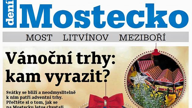 Týdeník Mostecko z 21. listopadu 2018