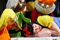 Divadlo rozmanitostí uvede Sněhurku a sedm trpaslíků. Ilustrační foto.