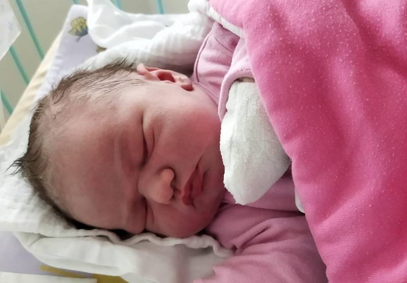 Veronika Kuchtová se narodila 11. září v 10.08 hodin rodičům Veronice a Martinu Kuchtovým. Mařila 51 cm a vážila 3,85 kg.