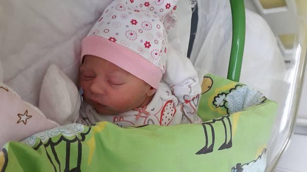 Kateřina Trachtová se narodila mamince Radce Trachtové 9. května v 0.10 hodin. Měřila 46 cm a vážila 2,63 kilogramu.