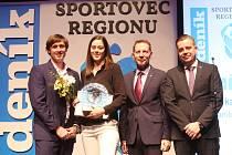 Házenkářka DHK Baník Most Dominika Zachová byla vyhlášena jako nejúspěšnější sportovec regionu Mostecko za rok 2019.