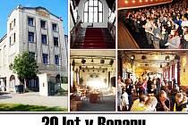 Docela velké divadlo Litvínov slaví.