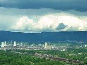Chemička Unipetrol u Litvínova.