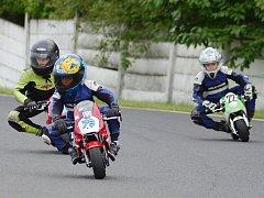 Závody minibiků se uskuteční na autodromu v Mostě.
