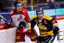 Litvínov přivítal po reprezentační přestávce doma Olomouc.