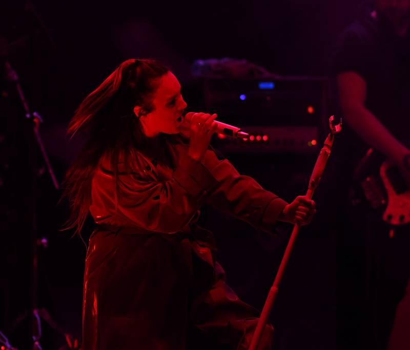 Ewa Farna to rozjela při posledním koncertu sezony na Loučkách.