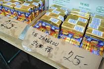 """Prodejce nabízel margarín 2. října už bez označení """"máslo"""". Výrobek obsahoval pouze 10 procent mléčného tuku."""
